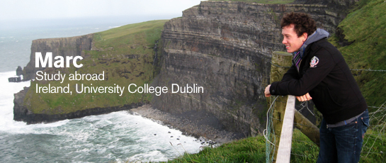 Marc Study Abroad, Ireland, University College Dublin