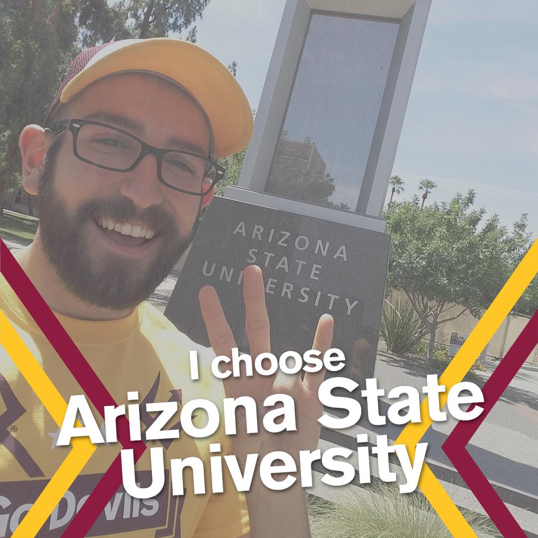 I choose ASU