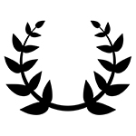 laurel leaves icon