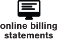 Online Billing Statements