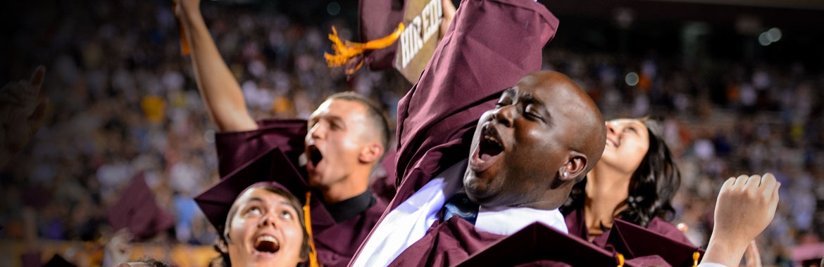 ASU graduation day photo